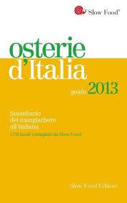 Guida alle Osterie d'Italia 2013