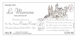 Etichetta Le marcone 10 -1